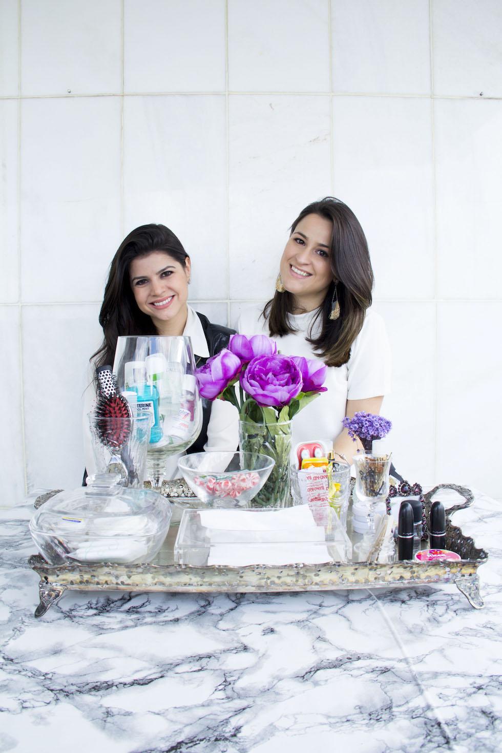 Como montar um Kit Toilette elegante {Especial DIY Casamento} Laina Laine e Flavia Staico