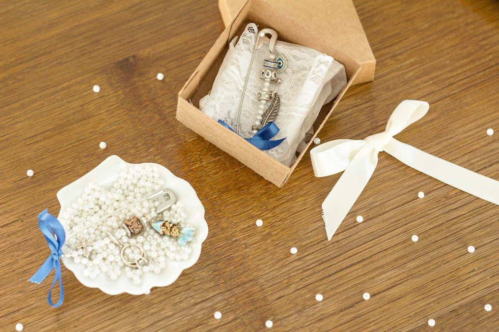 algo velho novo emprestado azul tradicao casamento diy presente personalizado noiva -2