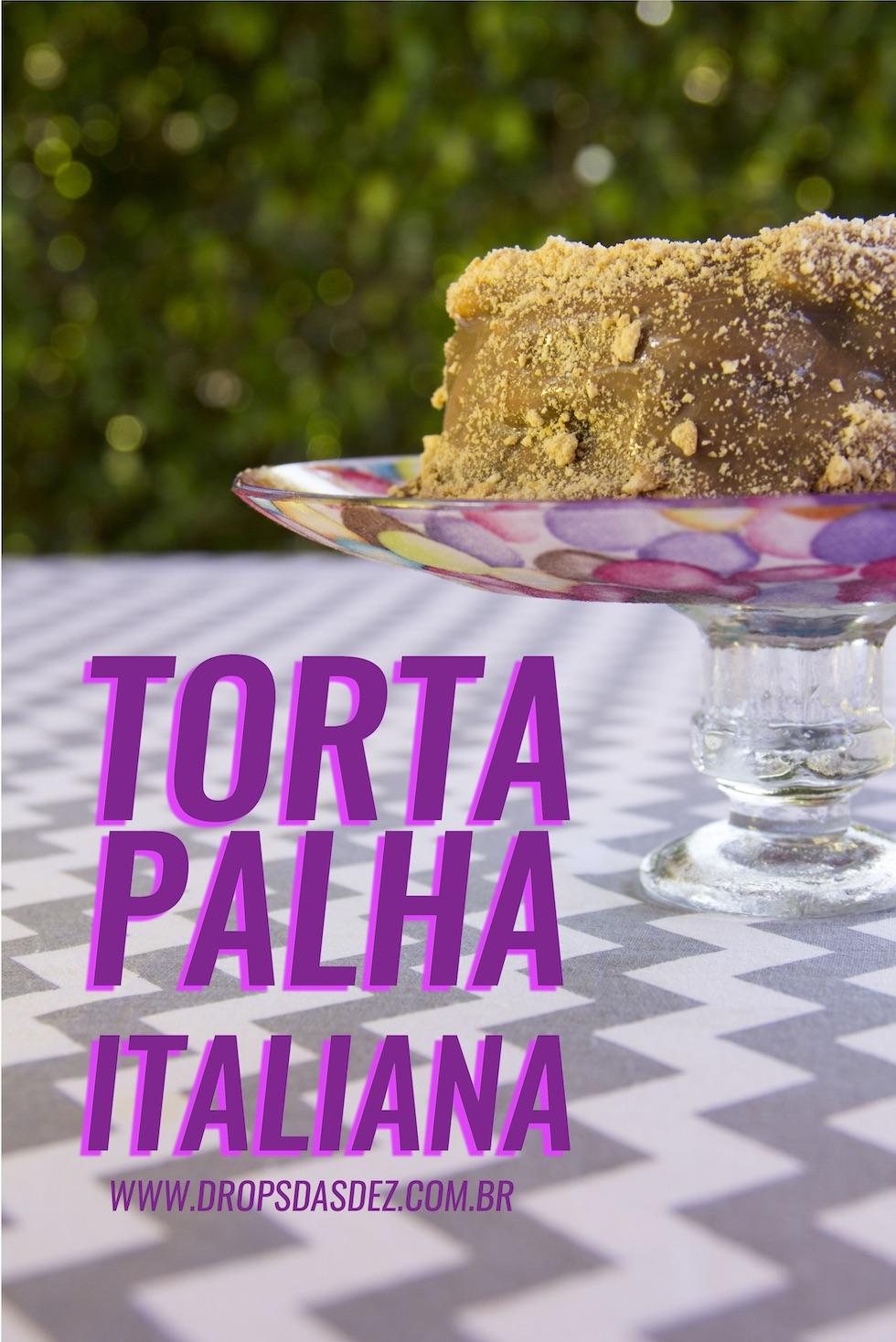Como fazer Bolo Torta de Palha Italiana