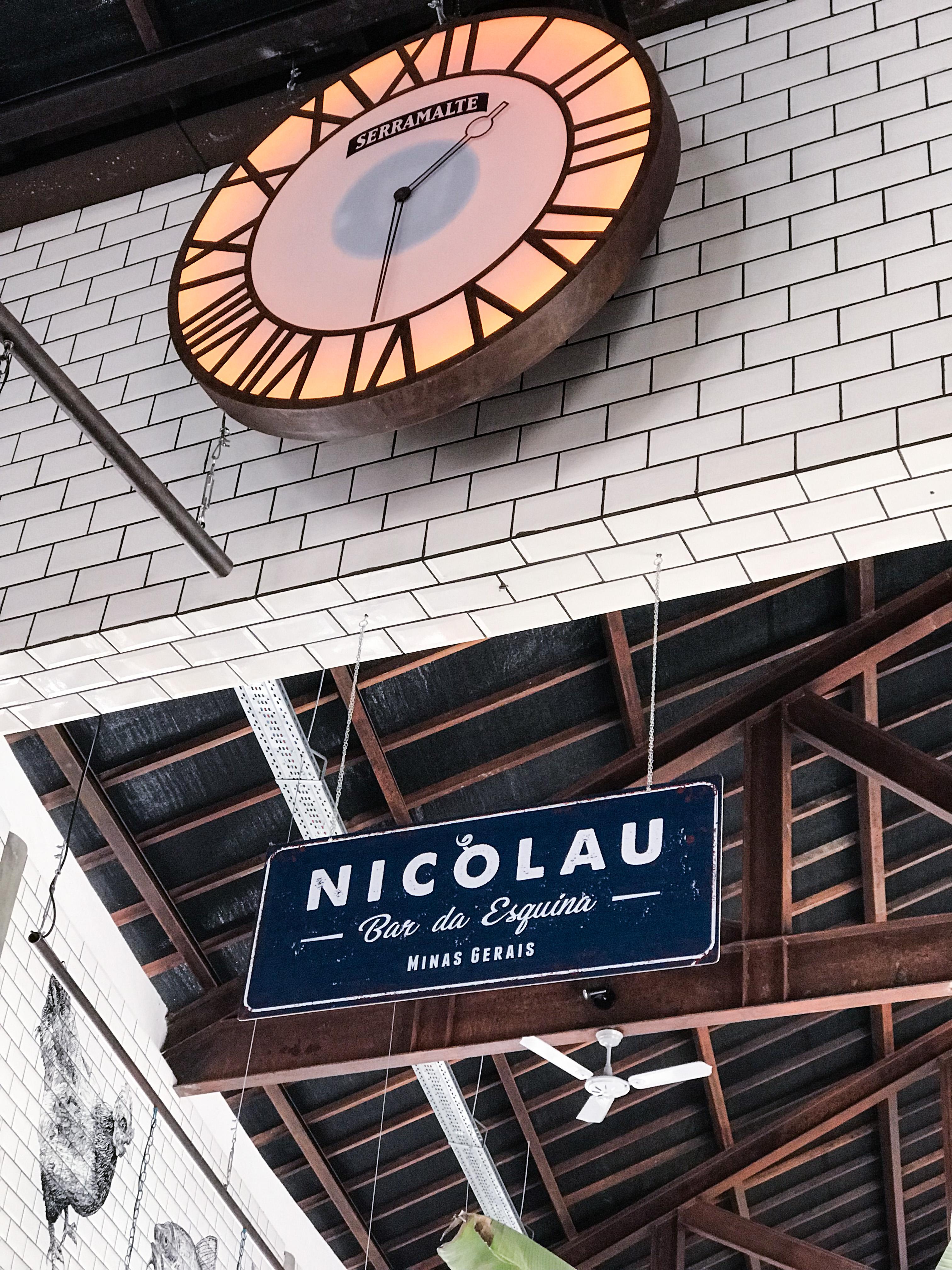 Nicolau Bar da Esquina conhecendo restaurantes Laina