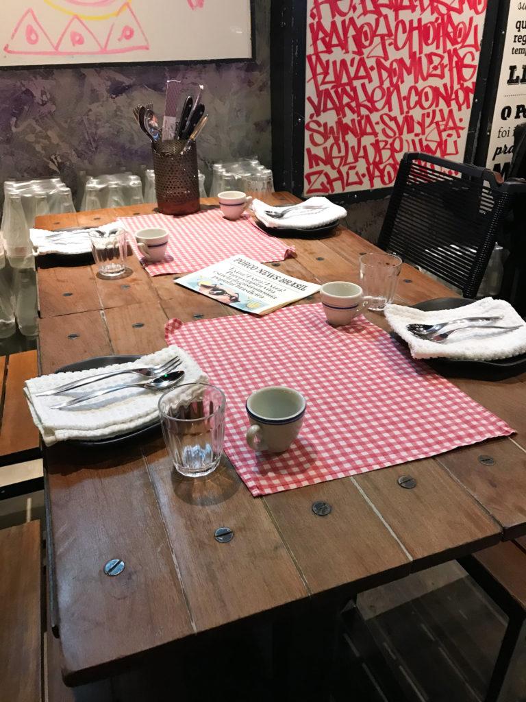 mesa posta restaurante a casa do porco em sao paulo conhecendo restaurantes