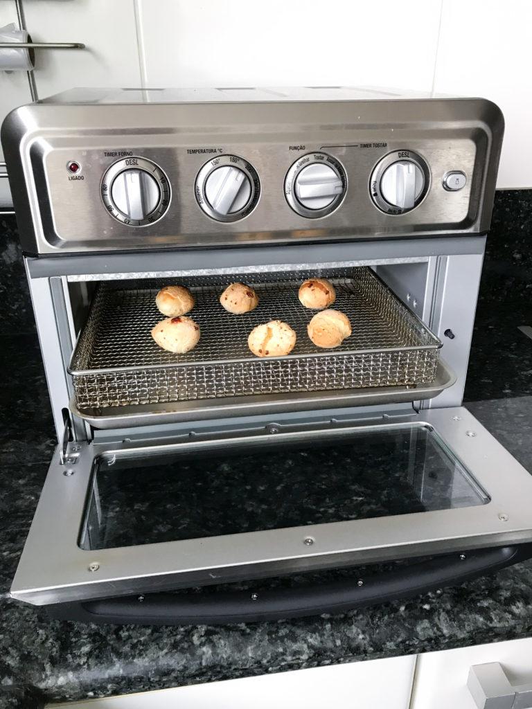 ovenfryer polishop como fazer pao de queijo