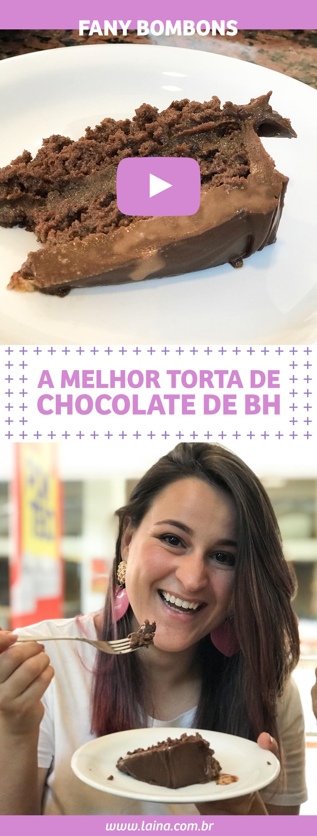 Fany Bombons: a melhor torta de chocolate de Belo Horizonte