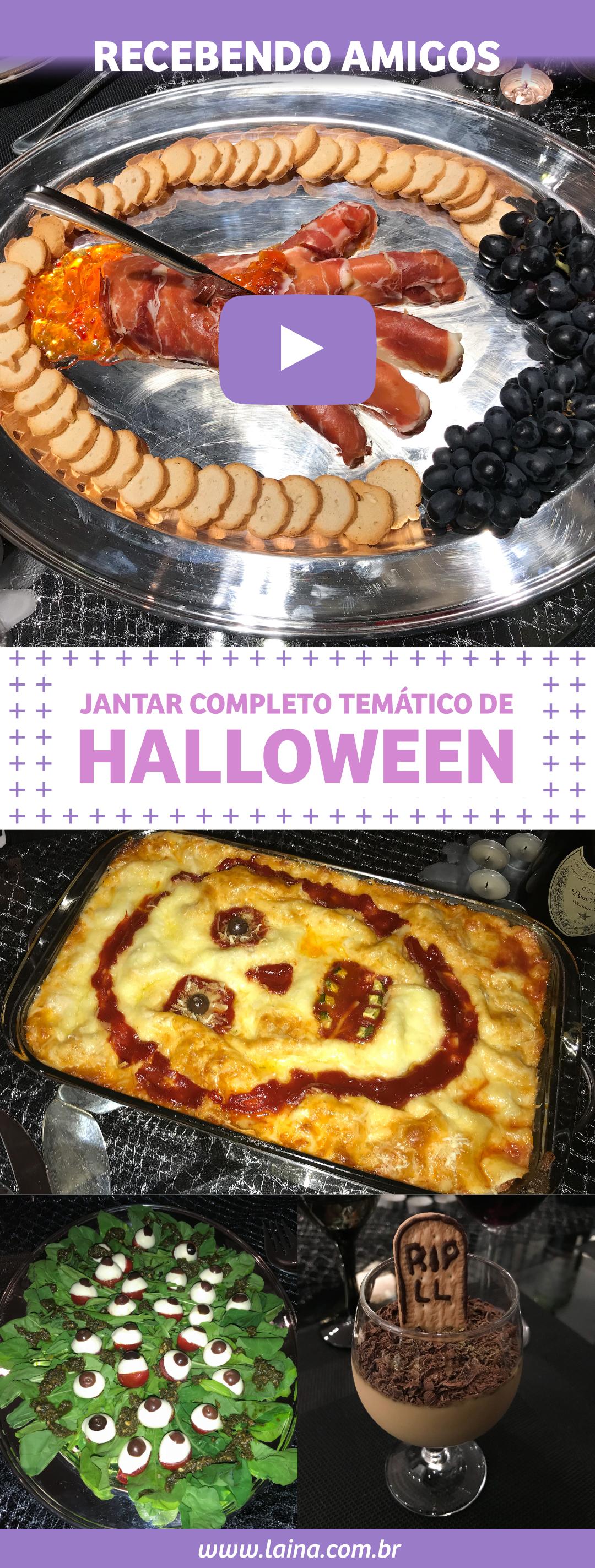 Comidas de Halloween: 4 Dicas de Receitas para assustar e impressionar os seus convidados