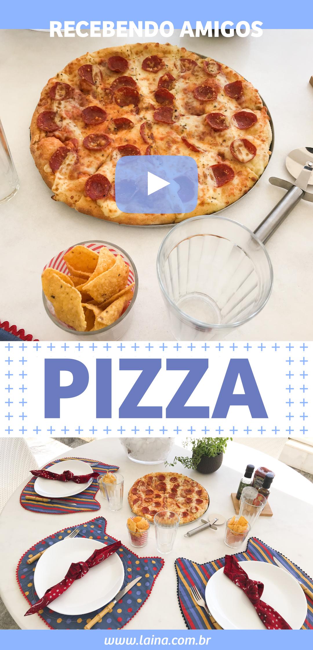 Noite da Pizza: Decoração Vintage para receber os amigos em casa