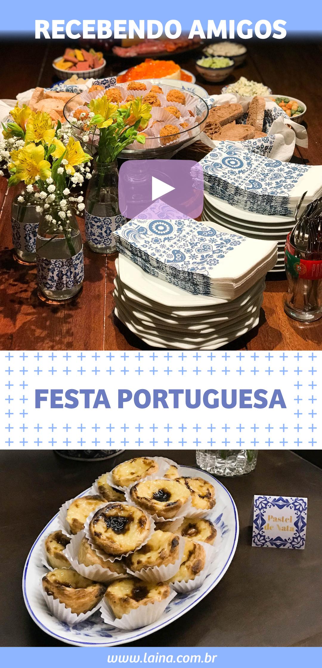 Festa Portuguesa: dicas de decoração e petiscos para receber amigos em casa