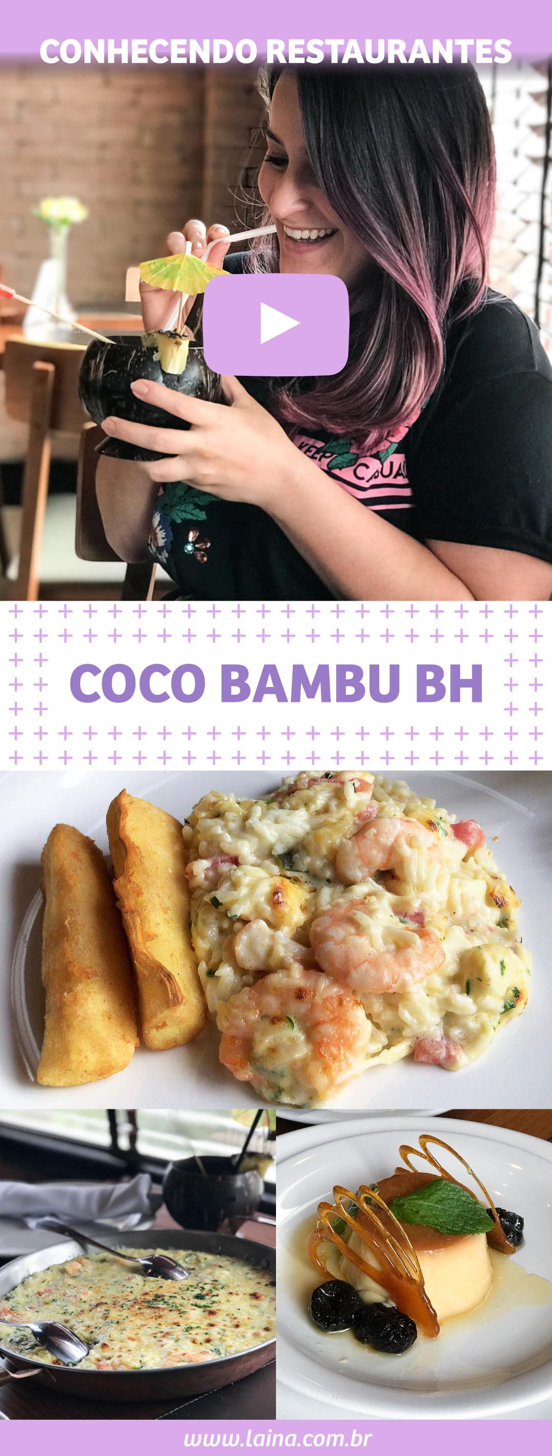 Conhecendo Restaurantes: Coco Bambu em Belo Horizonte