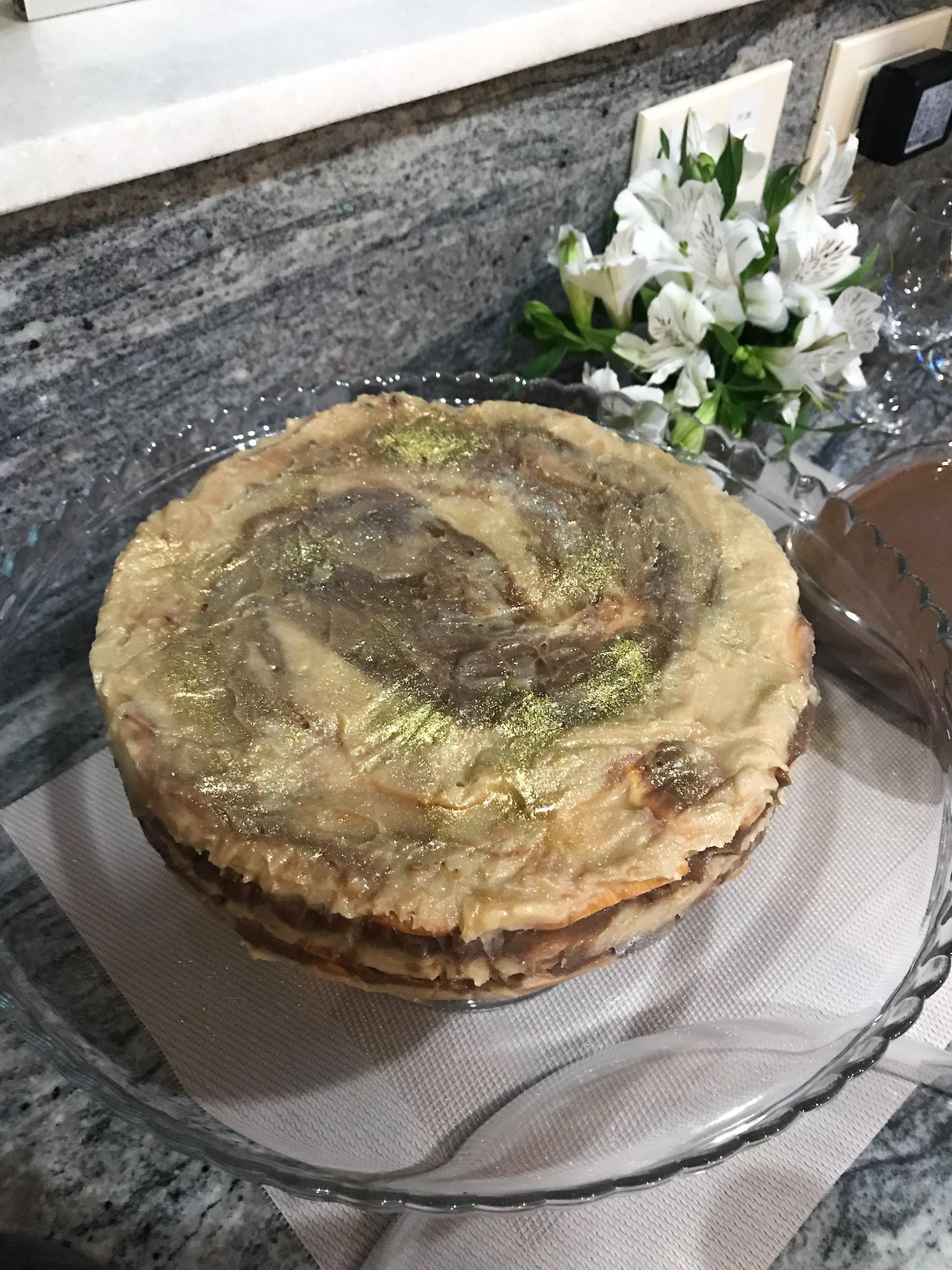 torta de dois brigadeiros receita para jantar de ano novo em casa como fazer