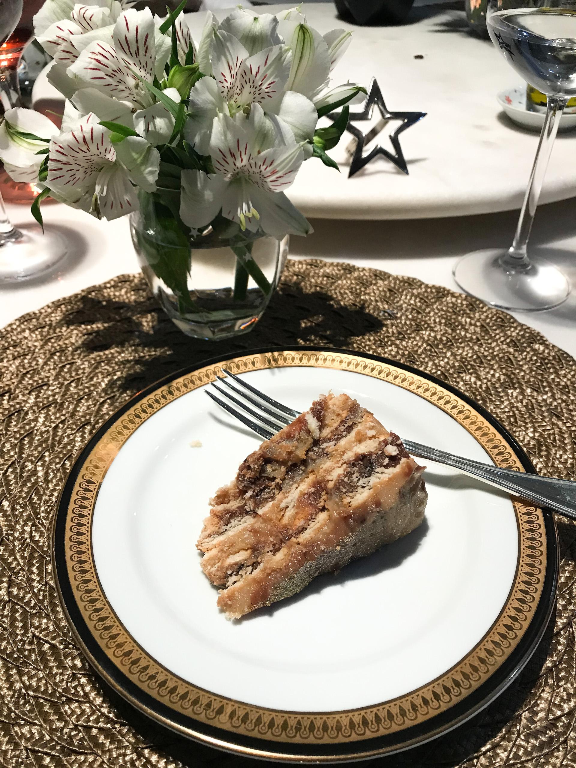 torta de dois brigadeiros jantar receita laina