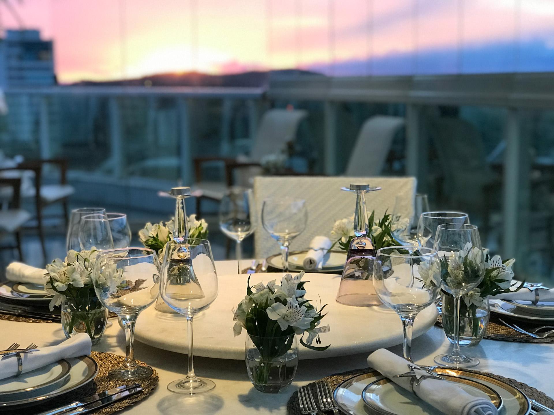 mesa posta reveillon jantar como organizar laina