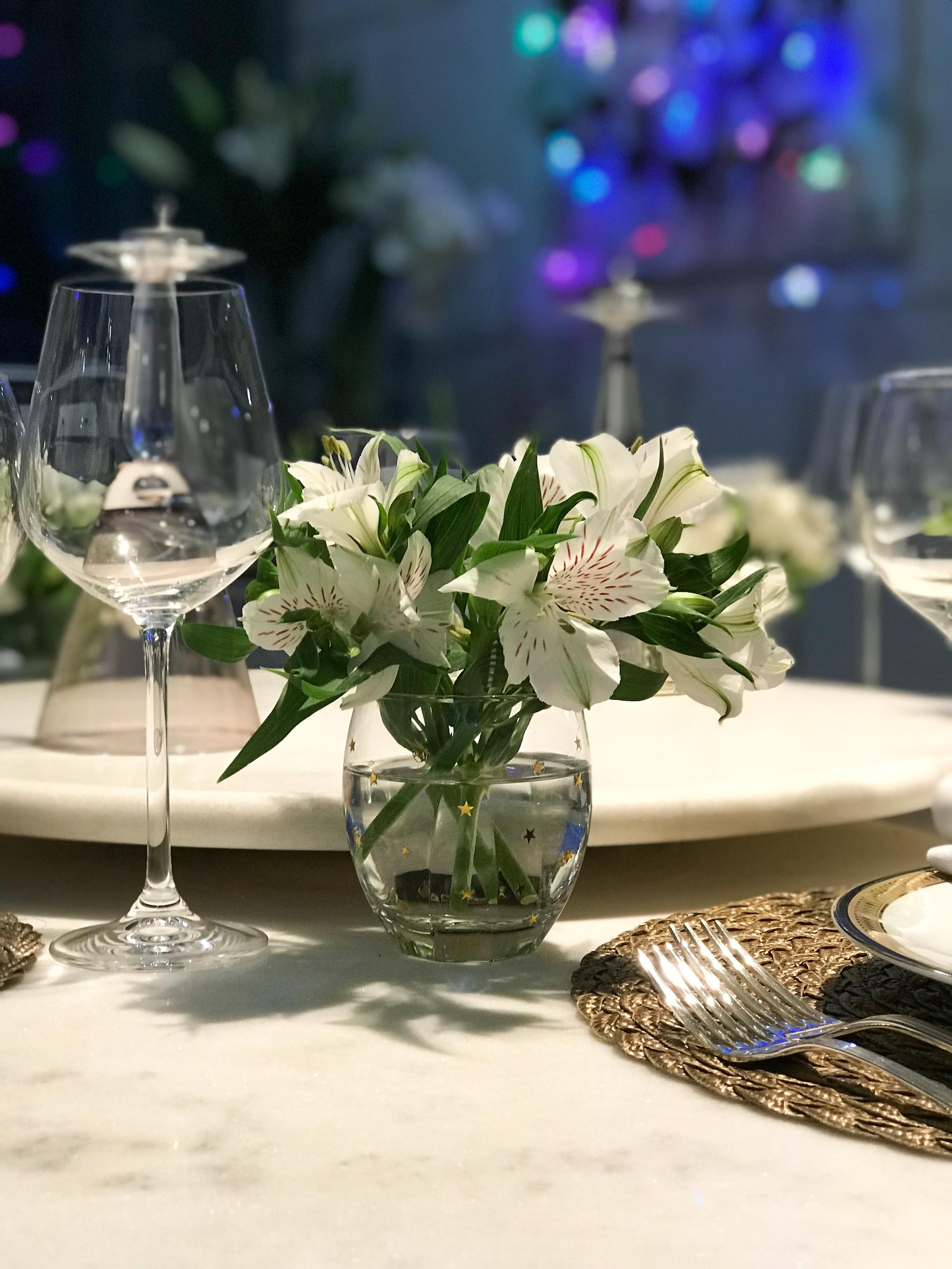 jantar enfeites da mesa como com estrelas como fazer