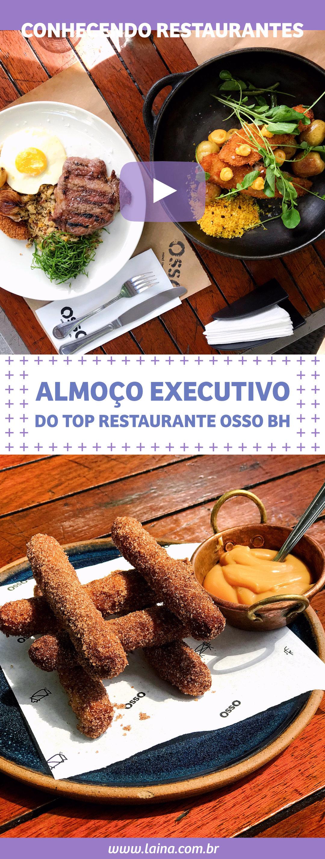 Almoço Executivo em BH no Top Restaurante OssO