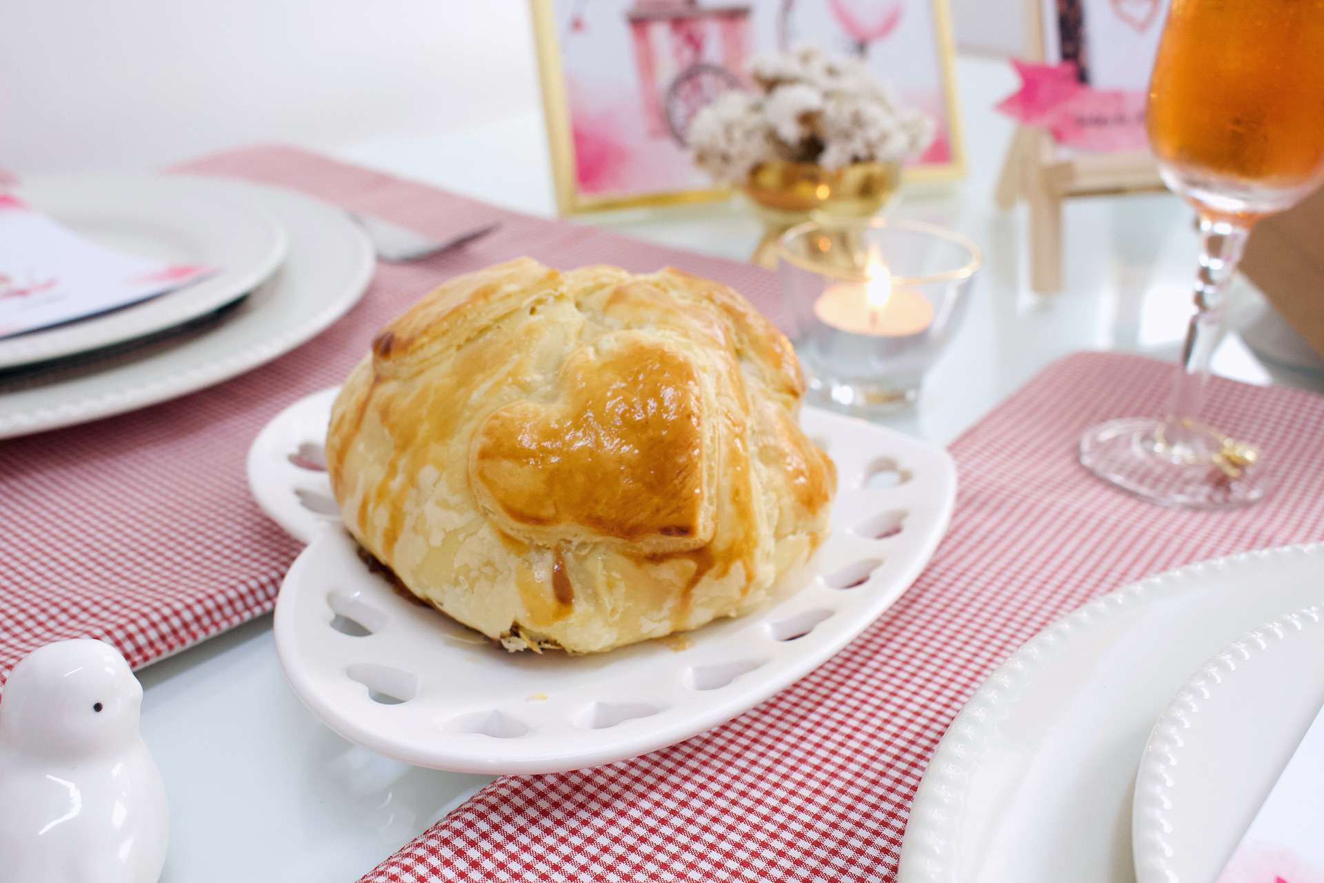 jantar romantico bodas de algodão doce