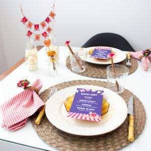 mesa posta arraia do amo festa junina em casa