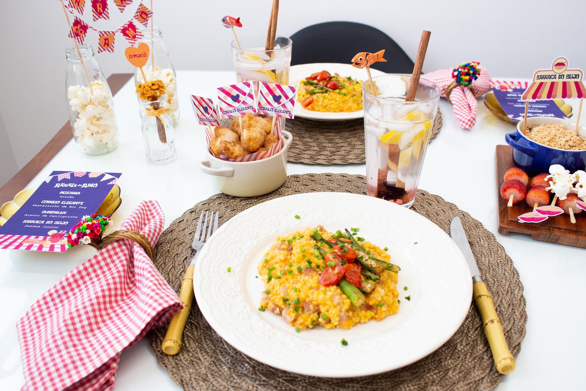 festa junina em casa ideias de jantar