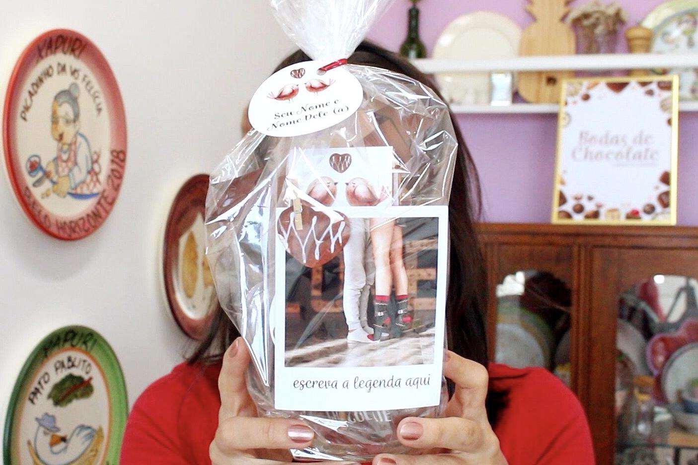 Bodas de Chocolate presente personalizado