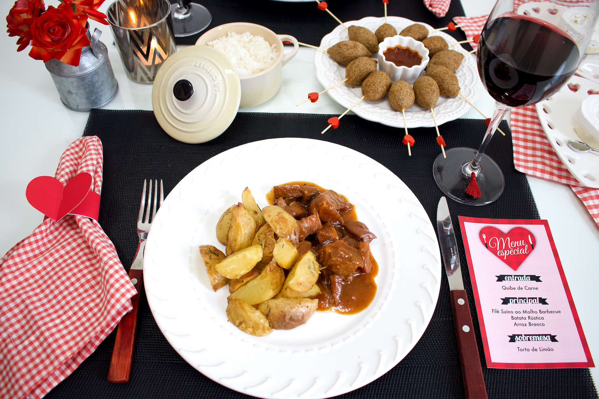 Jantar Romântico Fácil Sem Precisar Cozinhar