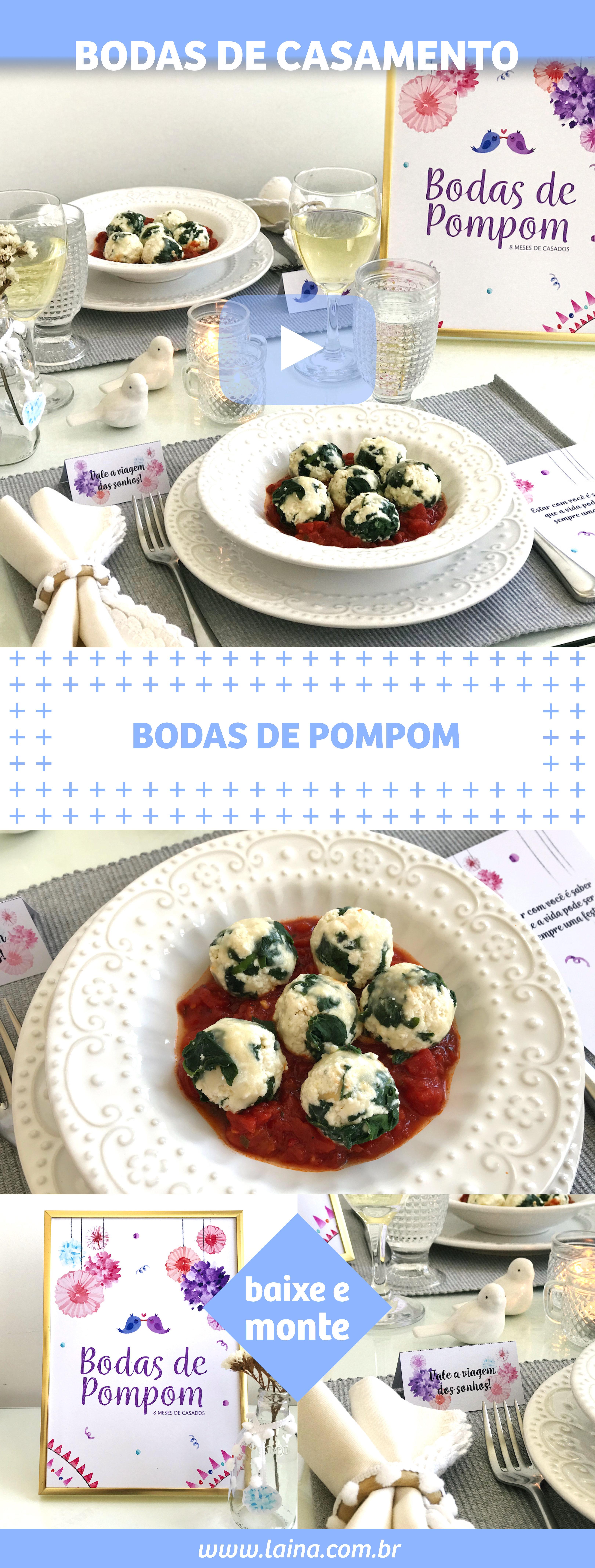 BBodas de Pompom: Como surpreender o seu amor com um jantar especial
