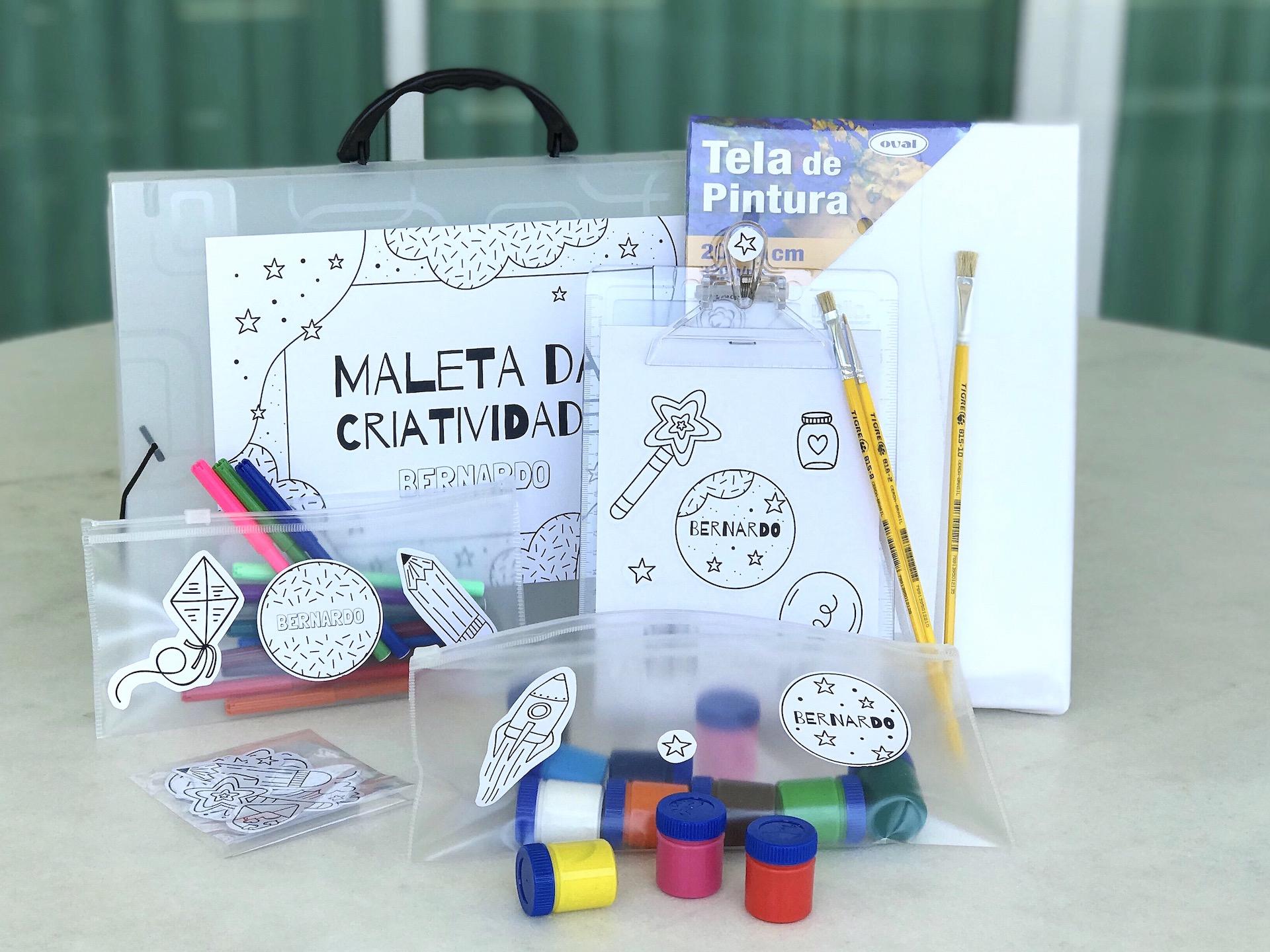 passo a passo presente personalizado com kit digital para o dia das crianças