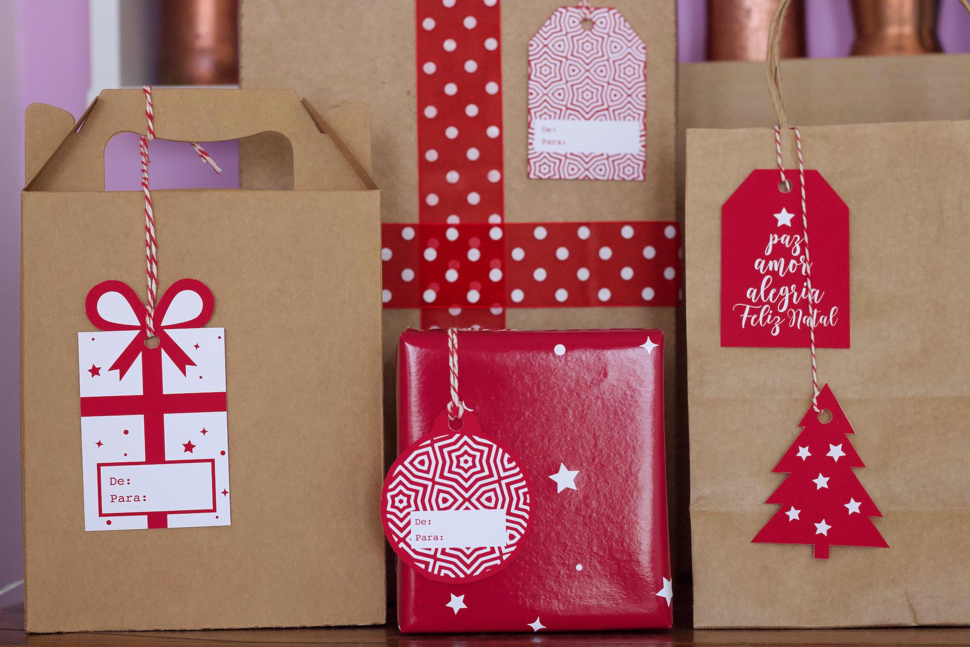 como personalizar presentes de natal ideias