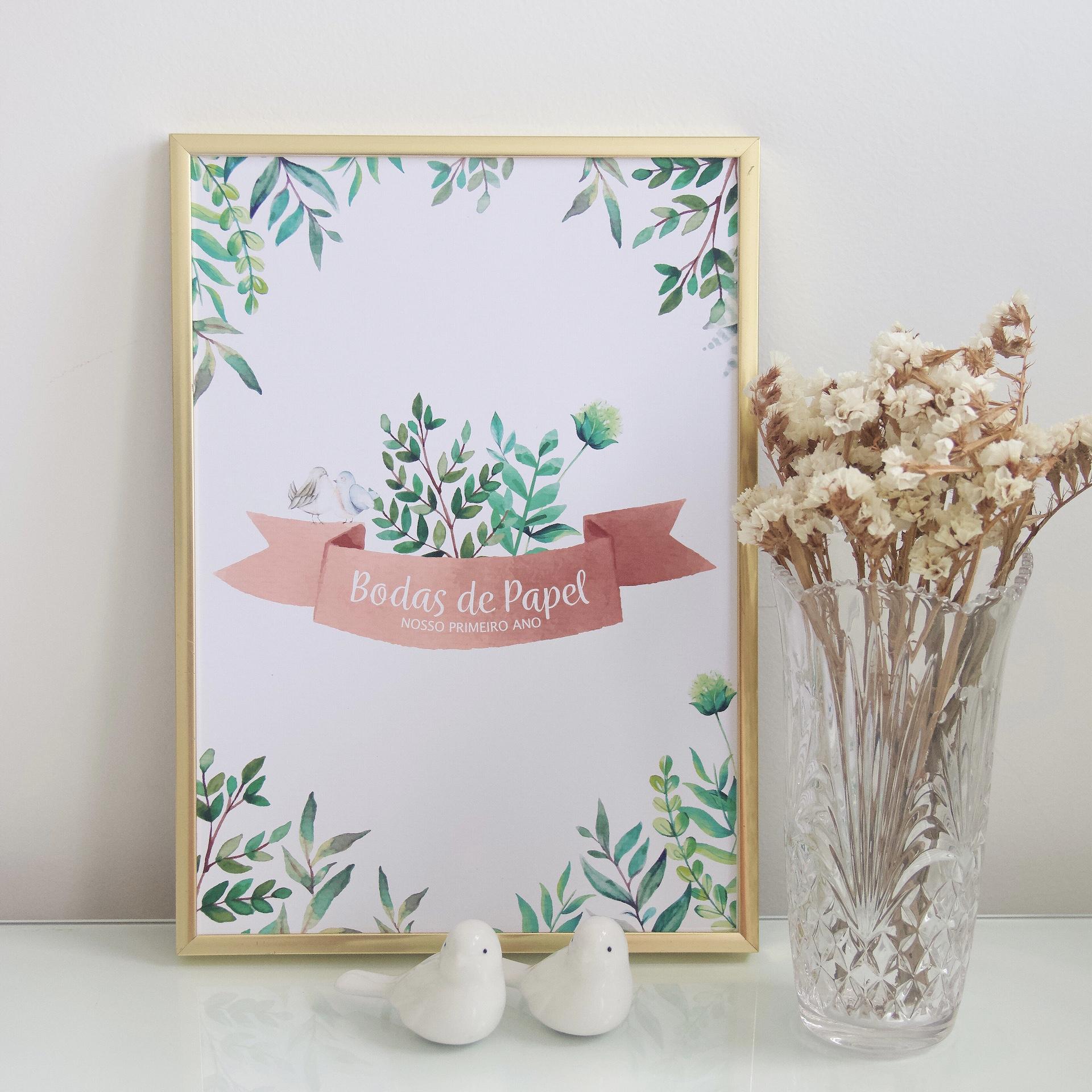 bodas de papel como decorar jantar