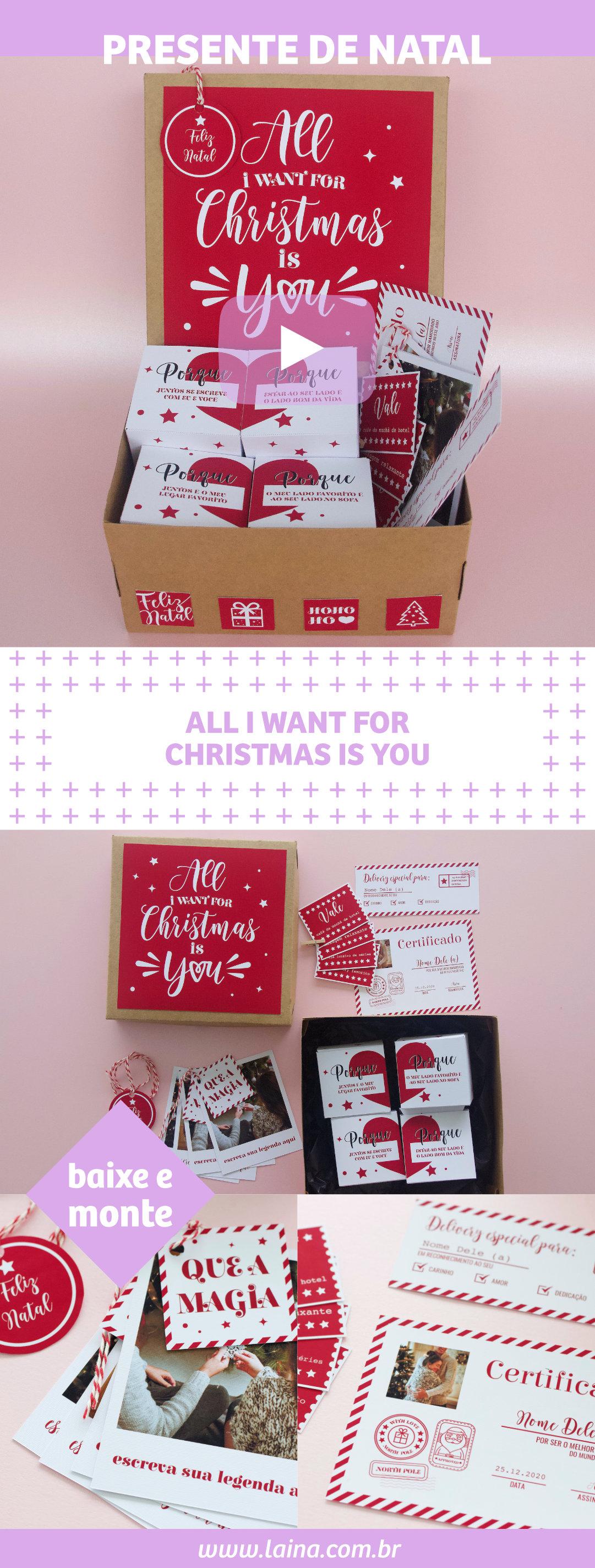 Presente de Natal para Namorado: Dica de presente personalizado inesquecível para o seu amor!