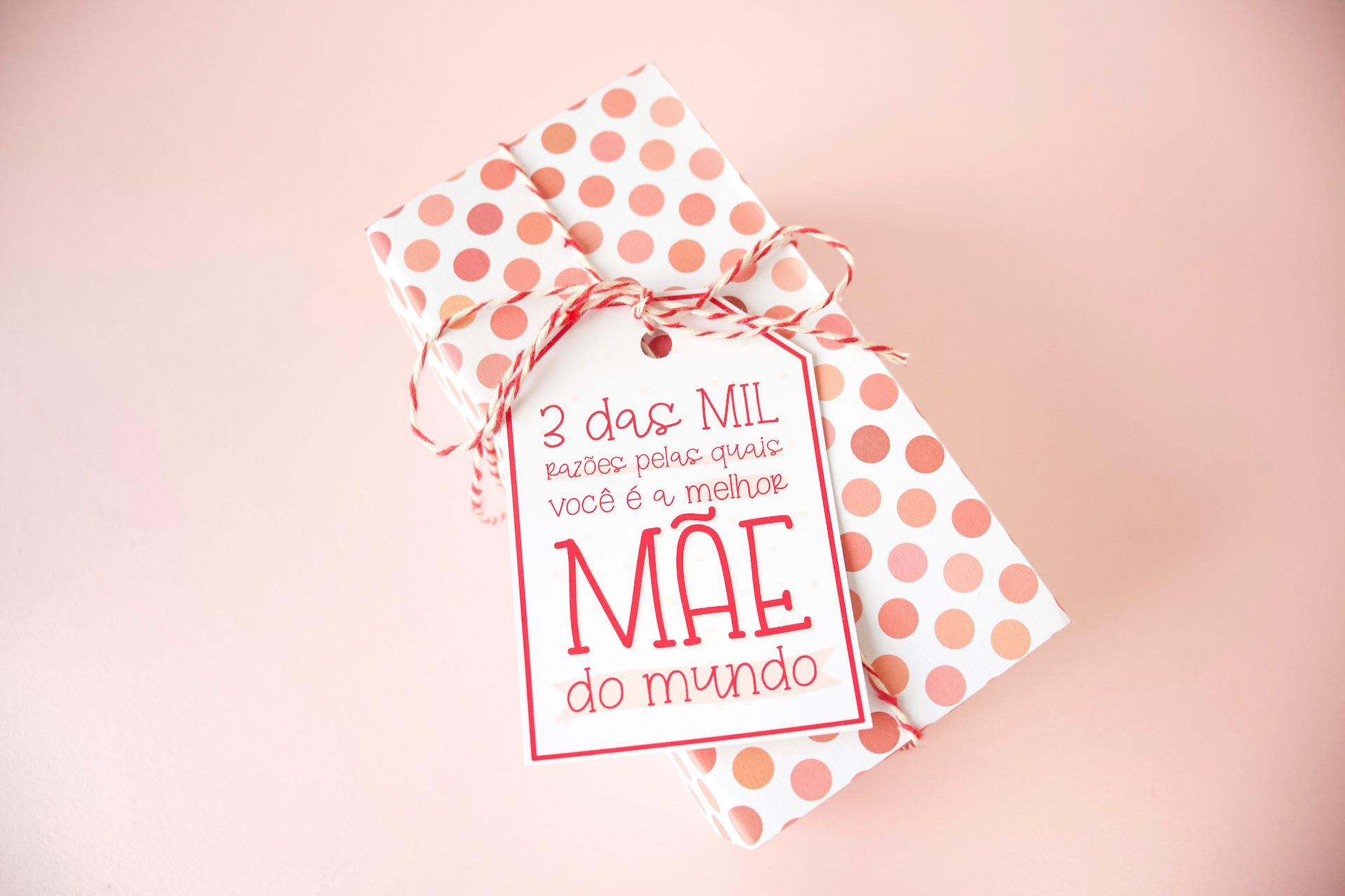 Caixa Bombom Dia das Mães