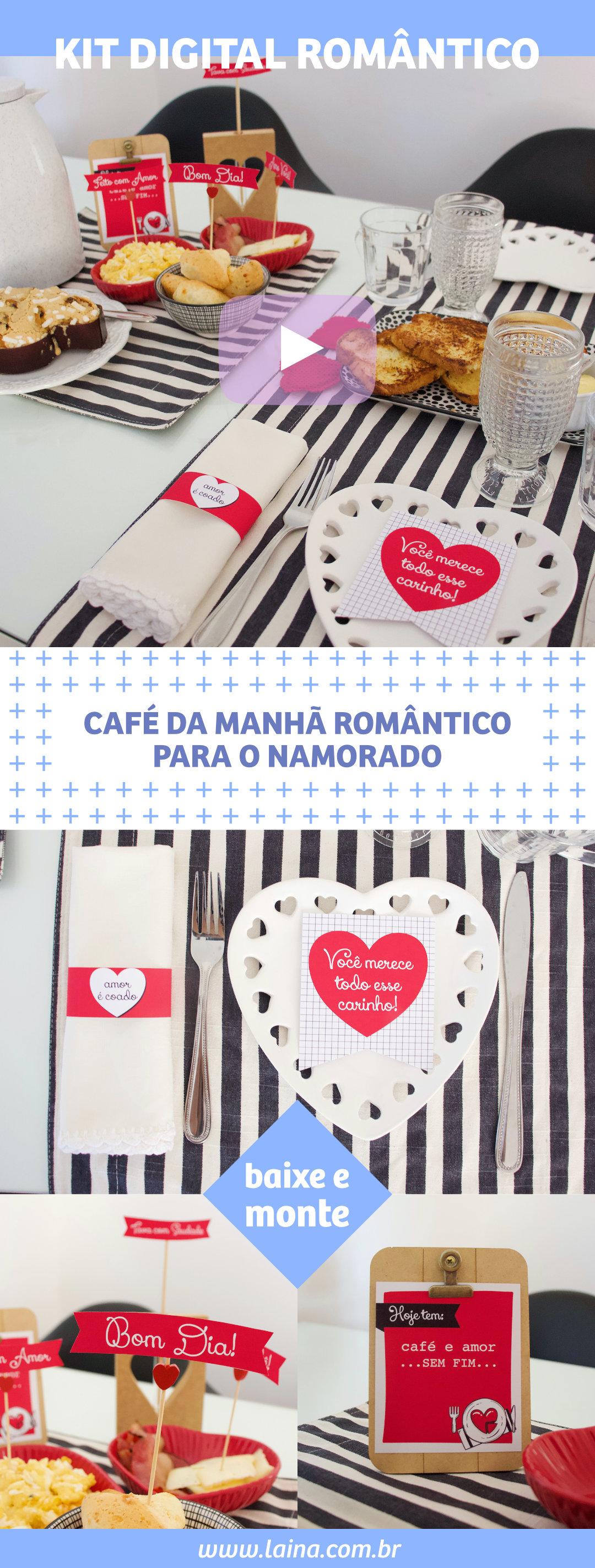 Como preparar Café da Manhã Romântico para o Namorado